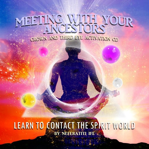 Neferatiti Crown Healing Meditation CD